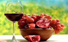 Гранатовый и виноградный сок