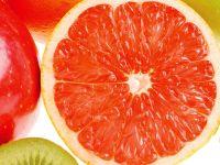 Грейпфрут на разрез