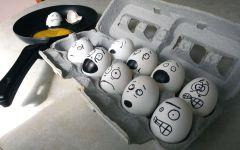 И у куринных яиц есть чувства